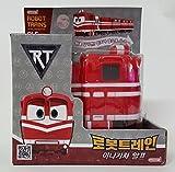 [Robot Train] Korean TV Animation Transformer Mini Robot Characters Toy For Kids Child