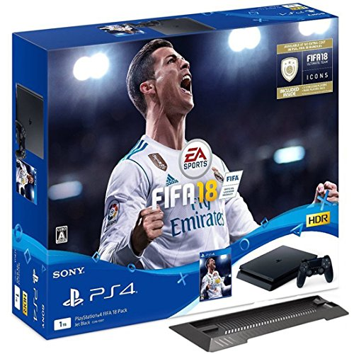 PlayStation 4 FIFA 18 Pack 【Amazon.co.jp限定】PS4用縦置き...