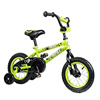 Tauki Kid Bike BMX Bike for Boys and Girls,12 Inch,Lime,95% assembled,for 2-5 Years Old,Gift for kids [並行輸入品]