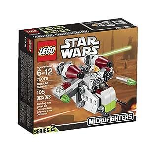 """レゴ (LEGO) スター・ウォーズ マイクロファイター""""リパブリック・ガンシップ"""" 75076"""