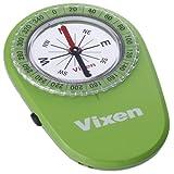 Vixen コンパス・高度計 オイル式コンパス LEDコンパス グリーン 43023-9