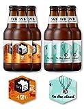 【父の日ギフト好適品】[コースター付]SPRING VALLEY BREWERY 人気のクラフトビール2種飲み比べセット [ 日本 330ml×6本 ] [ギフトBox入り]
