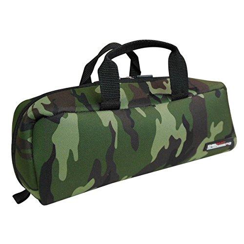 (業務用20個セット)DBLTACT トレジャーボックス(作業バッグ/手提げ鞄) Sサイズ 自立型/軽量 DTQ-S-CA 迷彩 〔収納用具〕【×20セット】