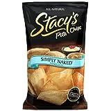 (海の塩は何も) 単に裸のピタパン チップ (パックの 3) Simply Naked Pita Chips (nothing but sea salt) (pack of 3)