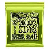 【正規品】 2019年製 ERNIE BALL 3221 ギター弦 (10-46) REGULAR SLINKY 3Set Pack