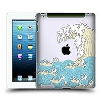 Head Case Designs タイド ウェーブ・ライン ハードバックケース Apple iPad 3 / iPad 4