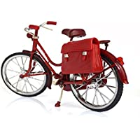 (Fun Market) レトロ アンティーク 風 自転車 1/6 ドール 撮影 バービー リカちゃん ドルフィー ブライス SD DD (レッド)