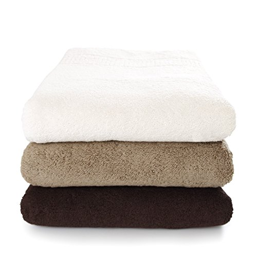 オーガニック316 バスタオル カーキ(今治タオルのIKEUCHI ORGANIC 風で織るタオル)1枚