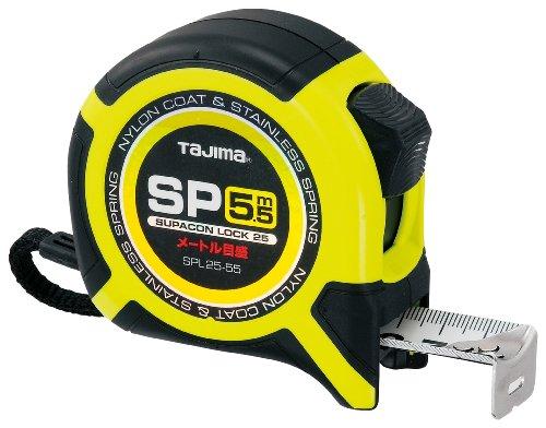 タジマ スパコンロック-25 5.5m メートル目盛 SPL25-55BL