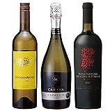 モルドバワイン 土着品種3本セット【赤白泡・750ml×3本】