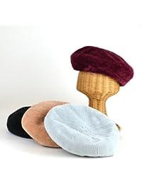 ノーブランド品 モールベロアベレー レディース帽子
