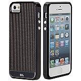 Case-Mate 【リアルカーボンファイバー素材採用】 日本正規品 iPhone5s / 5 Crafted Case Carbon Fiber, Black CM026463