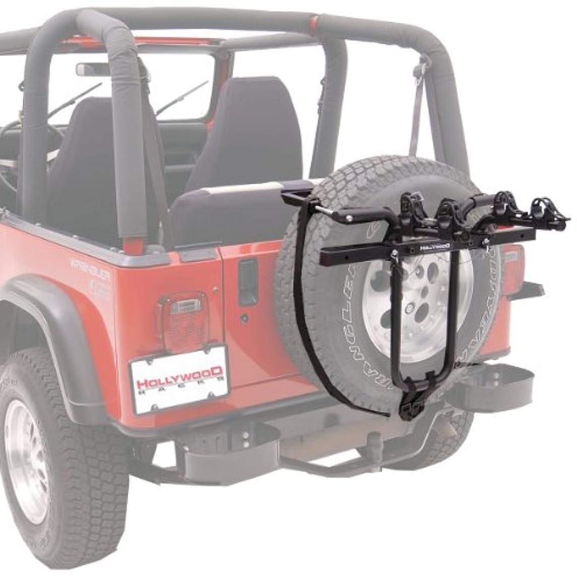 腫瘍ぜいたく引き出すHollywood Racks SR1 Spare Tire Rack 2-Bike Spare Tire Mount Rack