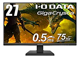 I-O DATA ゲーミングモニター 27インチ GigaCrysta PS4 FPS向き 0.5ms TN HDMI×2 DP EX-LDGC271TB