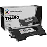 LD ? Compatible High Yield Black Laser Toner Cartridge for Brother TN450 for DCP-7060D DCP-7065DN HL-2130 HL-2132 HL2230 HL-2240 HL2240D HL-2242D HL-2250DN HL-2270DW HL-2280DW Intellifax 2840 Intellifax 2940 MFC-7240 MFC7360N MFC-7460DN and