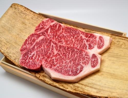 松阪牛 サーロインステーキ 200g×2枚 桐化粧箱入りギフト ステーキソース、スパイス付 A4 A5 特産 クール冷蔵便