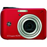 GE デジタルカメラ A1255 レッド A1255RD