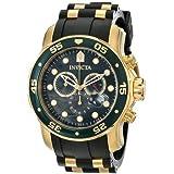 インビクタ Invicta Men's 17883 Pro Diver Analog Display Swiss Quartz Black Watch 男性 メンズ 腕時計 【並行輸入品】