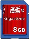 Gigastone SDHCカード 8GB Class4 5年保証 GJS4/8G