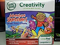 Leapster Explorer Game ADVENTURE SKETCHERS - Leap Pad Leap Pad 2 3 GS ULTRA [並行輸入品]