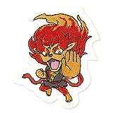 ワッペンorネームラベル 妖怪ウォッチ(YHCE-04)メラメライオン