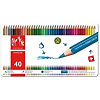 Caran d'Ache Fancolor Color Pencils, 40 Colors [並行輸入品]