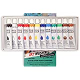 Art Masters 12 Colour 12ml Paint Tube Draw Painting Acrylic Set Drawing High Quality