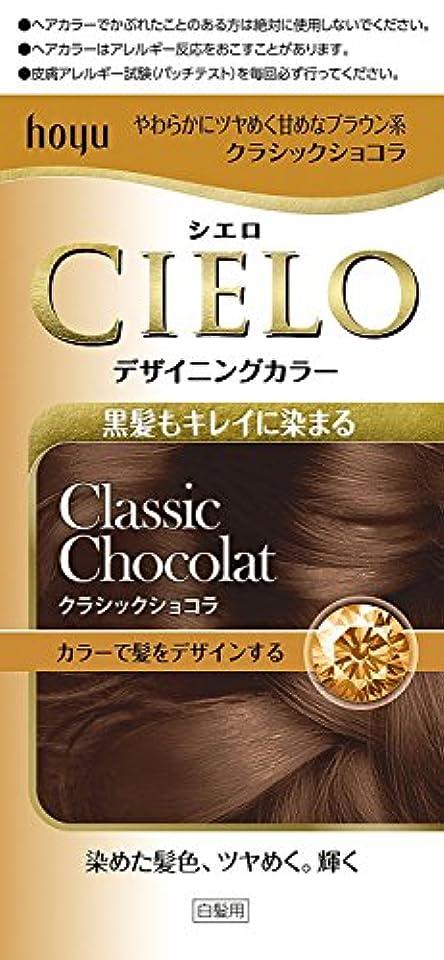 縞模様の意外フライトホーユー シエロ デザイニングカラー (クラシックショコラ)×6個