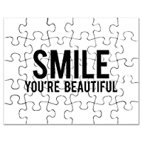 CafePress–Smile–ジグソーパズル、30個。