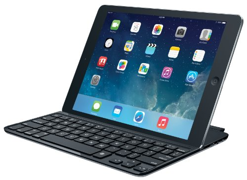 並行輸入品 Logitech Ultrathin Keyboard Cover for iPad Air, Black