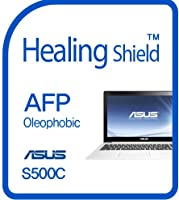 Healingshield スキンシール液晶保護フィルム Oleophobic AFP Clear Film for Asus Laptop S500C