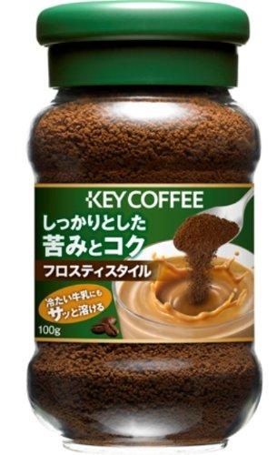 キーコーヒー インスタントコーヒー フロスティスタイル 100g