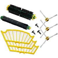 11 Pc/lot side brush filter kit replacement for Irobot Roomba 500 527 528 530 532 535 540 555 560 562 570 572 580 581 590 New