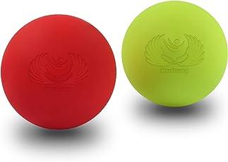 MAXSHUANG マッサージボール トリガーポイント 筋膜リリース トレーニング 背中 肩こり 腰 ふくらはぎ ツボ押しグッズ 2で1組み合わせ
