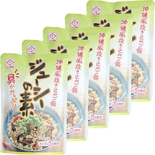サン食品 ジューシーの素(炊込みご飯の素) 3合焚き 180g ×5個