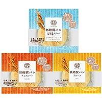 新発売 ピアンタ カットアンドスリム 低糖質パン 3種各4個セット(計12個)