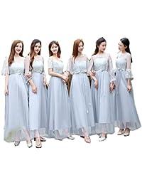 b22ea7f4b85e0 ブライズメイド ドレス 花嫁の介添えドレス フォーマル ドレス ロングタイプ パーテイー ...