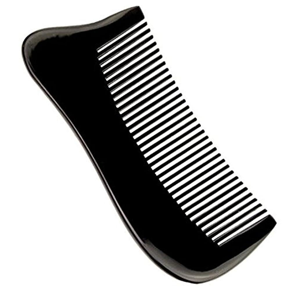 辞任無限大公爵櫛型 プロも使う牛角かっさプレート マサージ用 血行改善 高級 天然 静電気防止 美髪 美顔 ボディ リンパマッサージ
