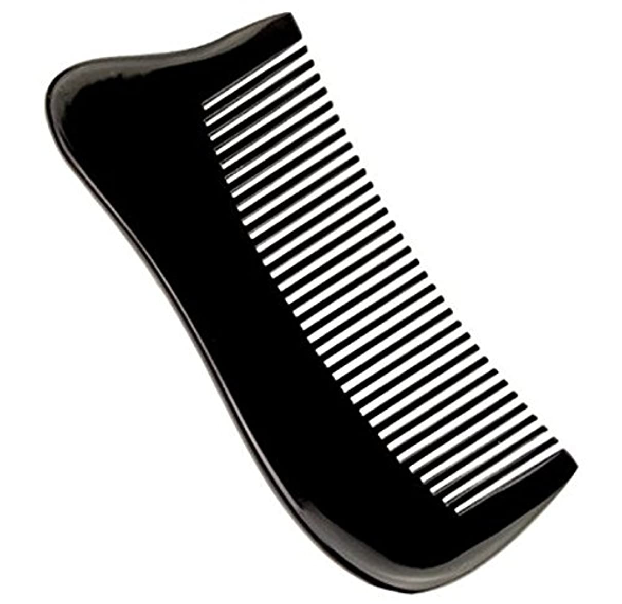 軽量悲しむ滅びる櫛型 プロも使う牛角かっさプレート マサージ用 血行改善 高級 天然 静電気防止 美髪 美顔 ボディ リンパマッサージ