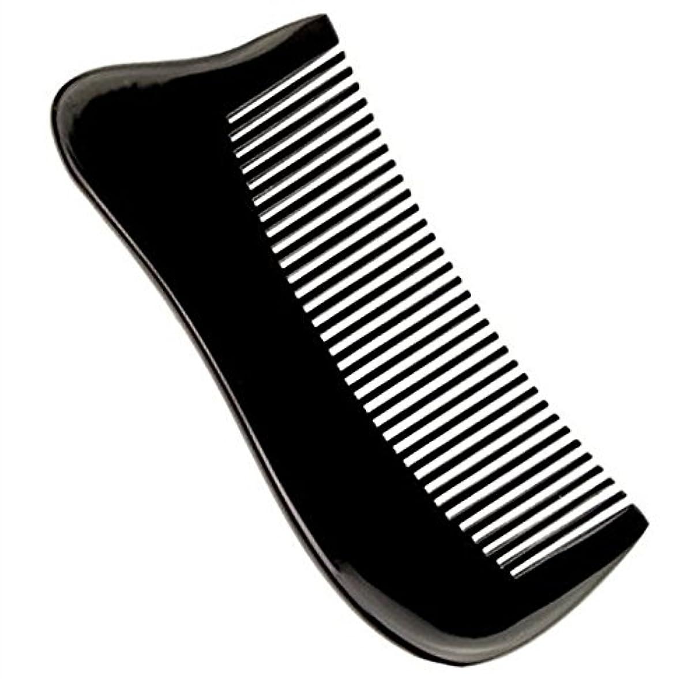 台無しにくつろぎ洗う櫛型 プロも使う牛角かっさプレート マサージ用 血行改善 高級 天然 静電気防止 美髪 美顔 ボディ リンパマッサージ