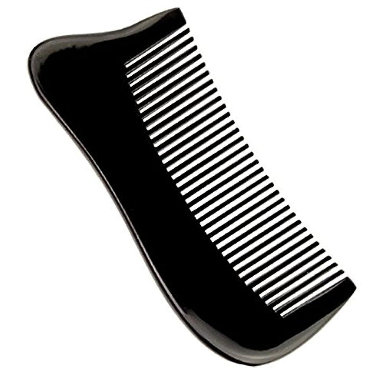 選択病的スロー櫛型 プロも使う牛角かっさプレート マサージ用 血行改善 高級 天然 静電気防止 美髪 美顔 ボディ リンパマッサージ