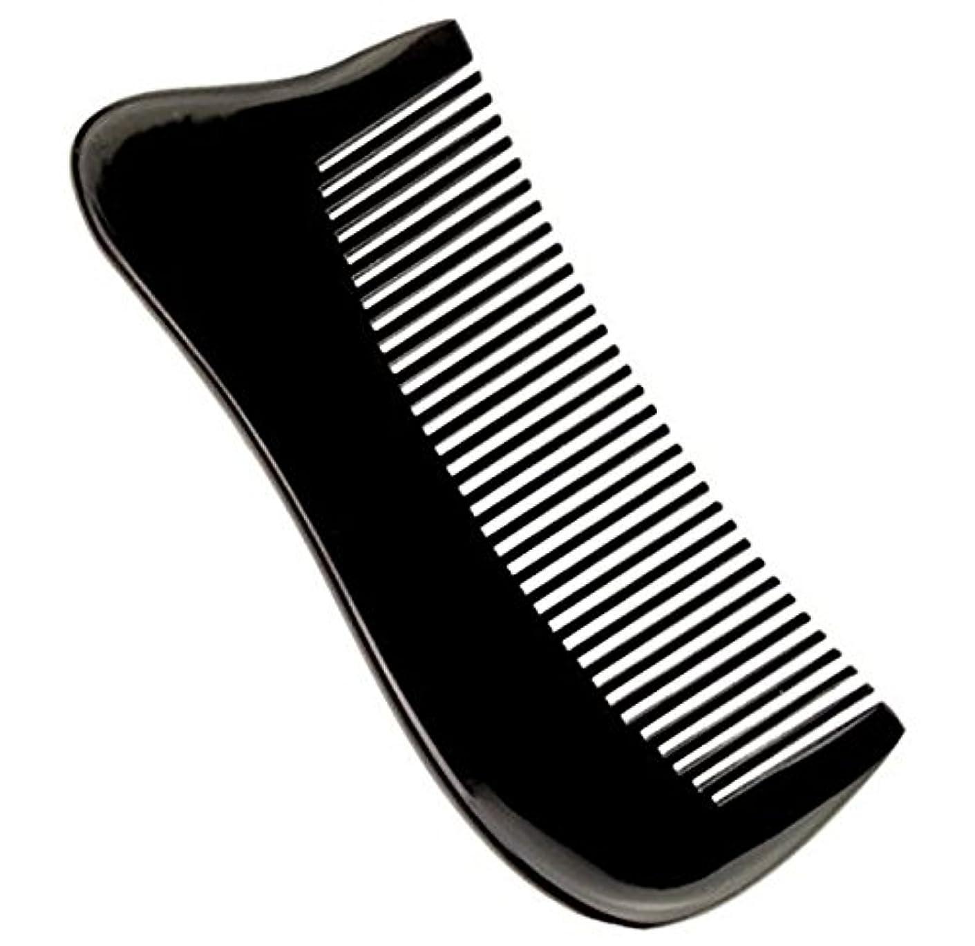 隔離するシビック昼寝櫛型 プロも使う牛角かっさプレート マサージ用 血行改善 高級 天然 静電気防止 美髪 美顔 ボディ リンパマッサージ