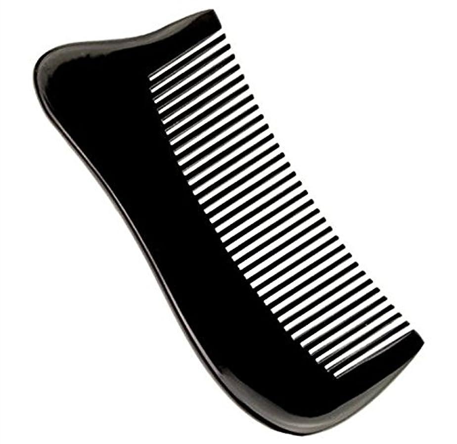 公平な破裂編集する櫛型 プロも使う牛角かっさプレート マサージ用 血行改善 高級 天然 静電気防止 美髪 美顔 ボディ リンパマッサージ