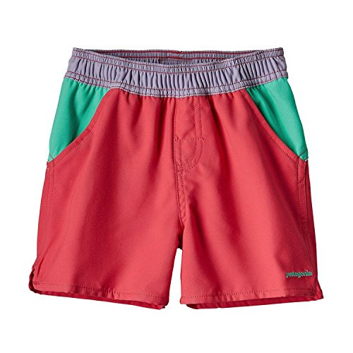 PATAGONIA(パタゴニア)BABY Forries Shorey Board Shorts (80-110) サーフショーツ 水着 2T:81-89cm,CIE RED