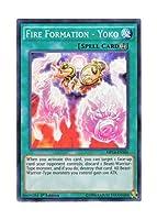 遊戯王 英語版 MP14-EN104 Fire Formation - Yoko 炎舞-「揺光」 (スーパーレア) 1st Edition