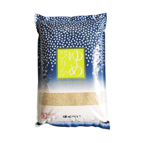 令和元年産 ゆめぴりか A次品 玄米 5kg 第一区分S 認証マーク 一等米 北海道米