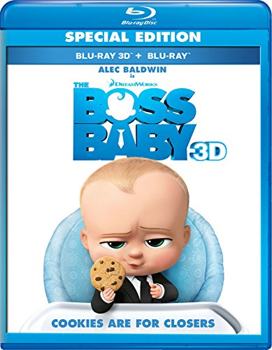The Boss Baby (Deluxe Edition) [Blu-ray] [Import]
