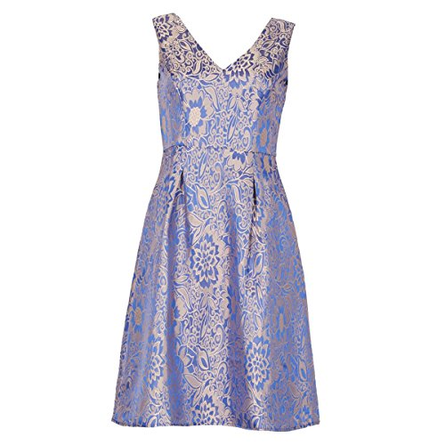 イザベルロンドン トップス ワンピース Jacquard Prom Dress blue [並行輸入品]
