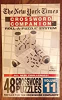 The New York Times Crossword Companion Roll-A-Puzzle System Volume 11 (48 Crossword Puzzles Refills) by Herbko International, Inc. [並行輸入品]
