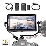 【正規品&一年間保証&日本語設定可能】Feelworld F6 5.7インチIPSモニター フルHD撮影モニター 1920x1080 オンカメラビデオモニター フィールドモニター  4K HDMI信号入力 - Best Reviews Guide